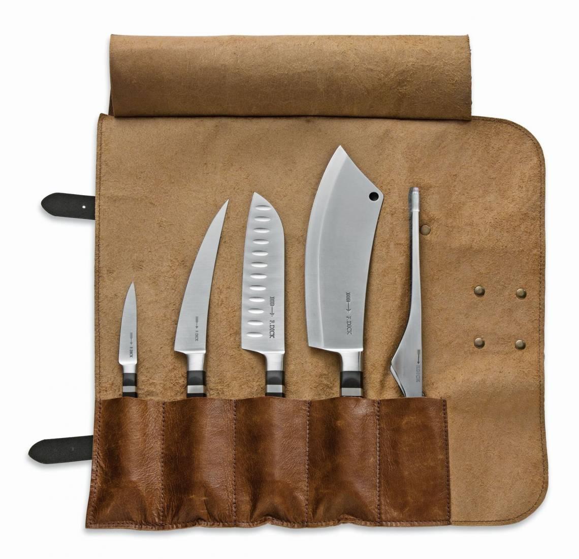 Dick Grilltasche - Nr. 8196800 - geöffnet mit der Messer-Serie 1905