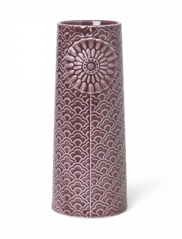 Dottir - Pipanella  Vase Big Aubergine
