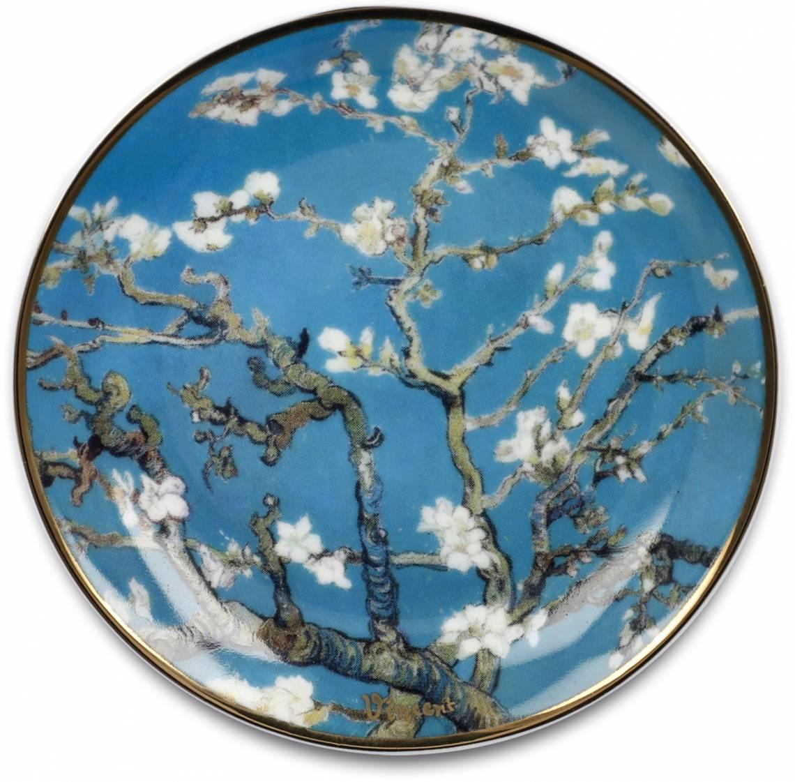 Artis Orbis - van Gogh - Mandelbaum blau - Miniteller Ø 10 cm