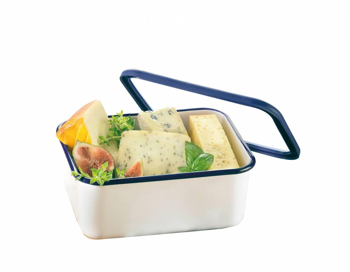 Honeyware - Frischhaltedose aus Emaille 1,9 Liter