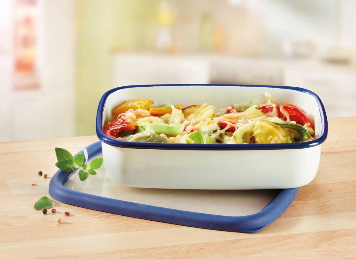 Honeyware - Frischhaltedose aus Emaille 1,6 Liter - Küche