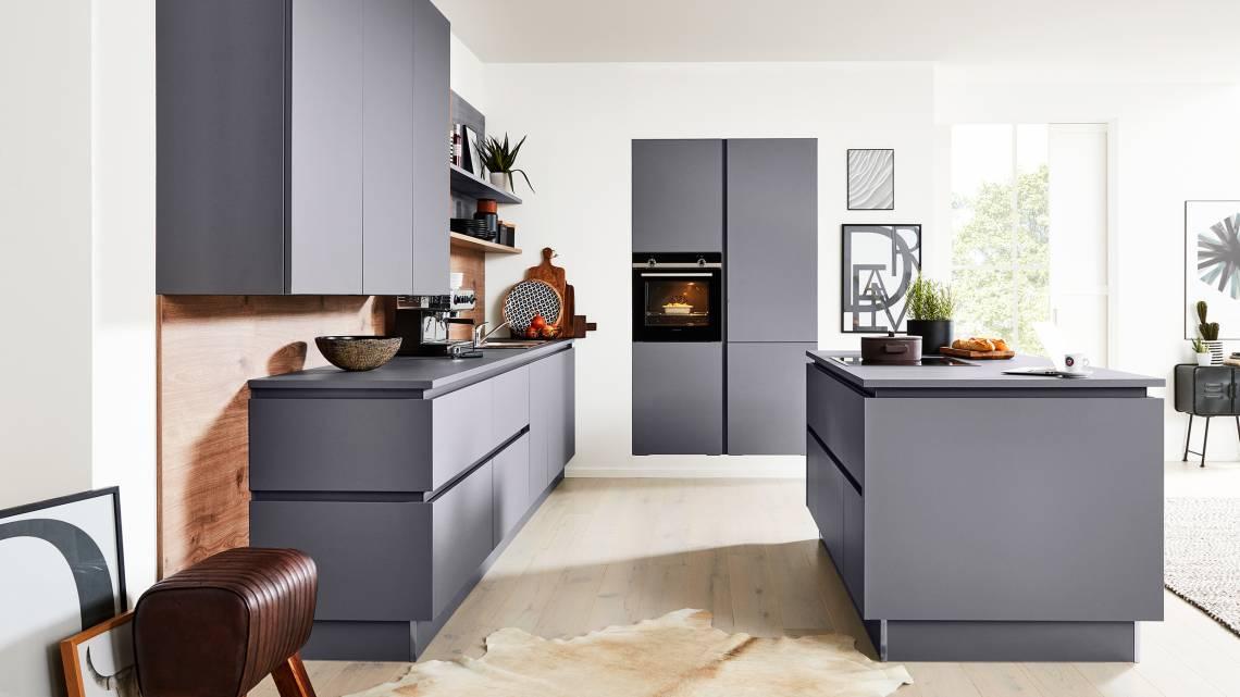 Interliving - Küche Serie 3030 - Milieu - seitlich