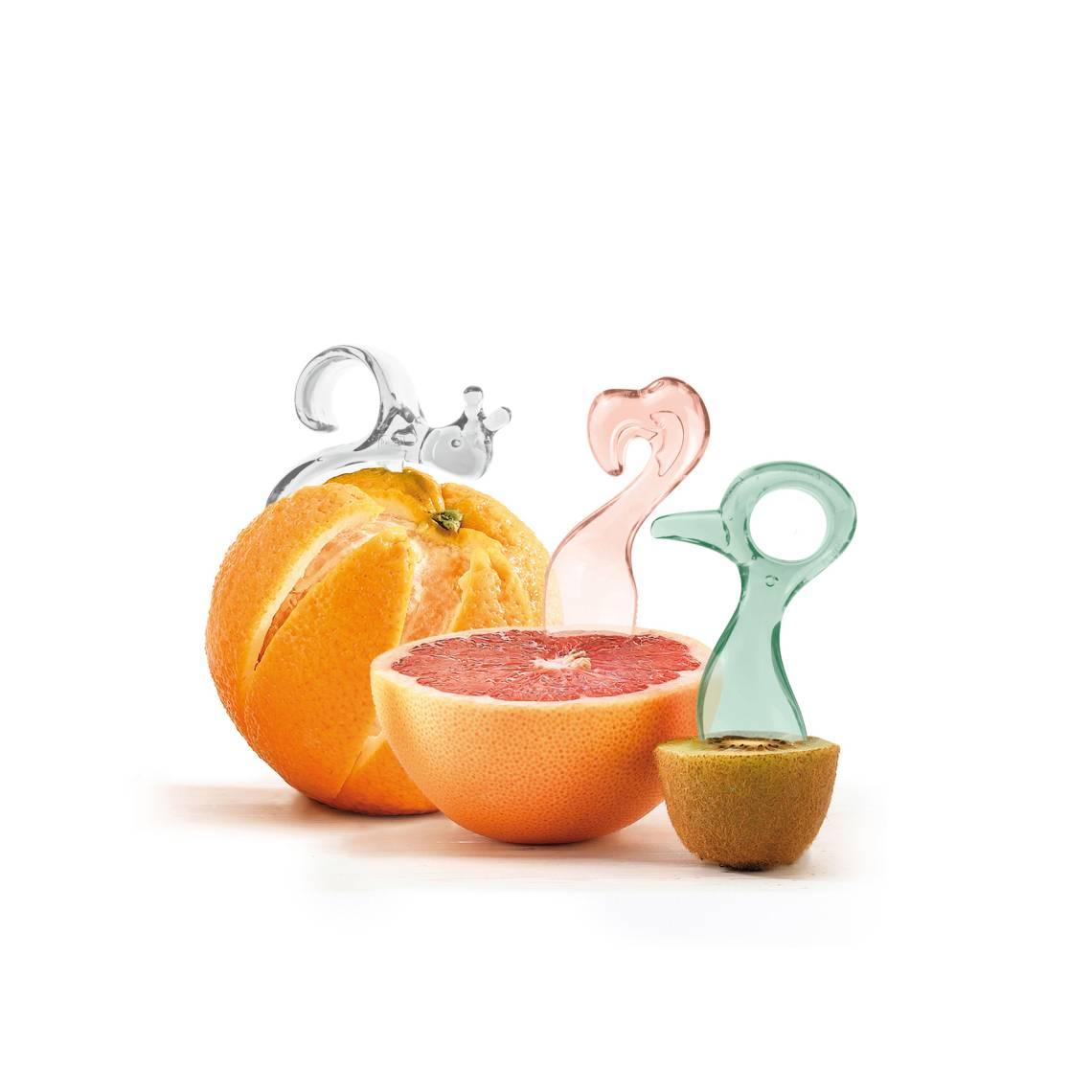 Koziol - Energy Tool Set - Pink, grün, weiß - Obst