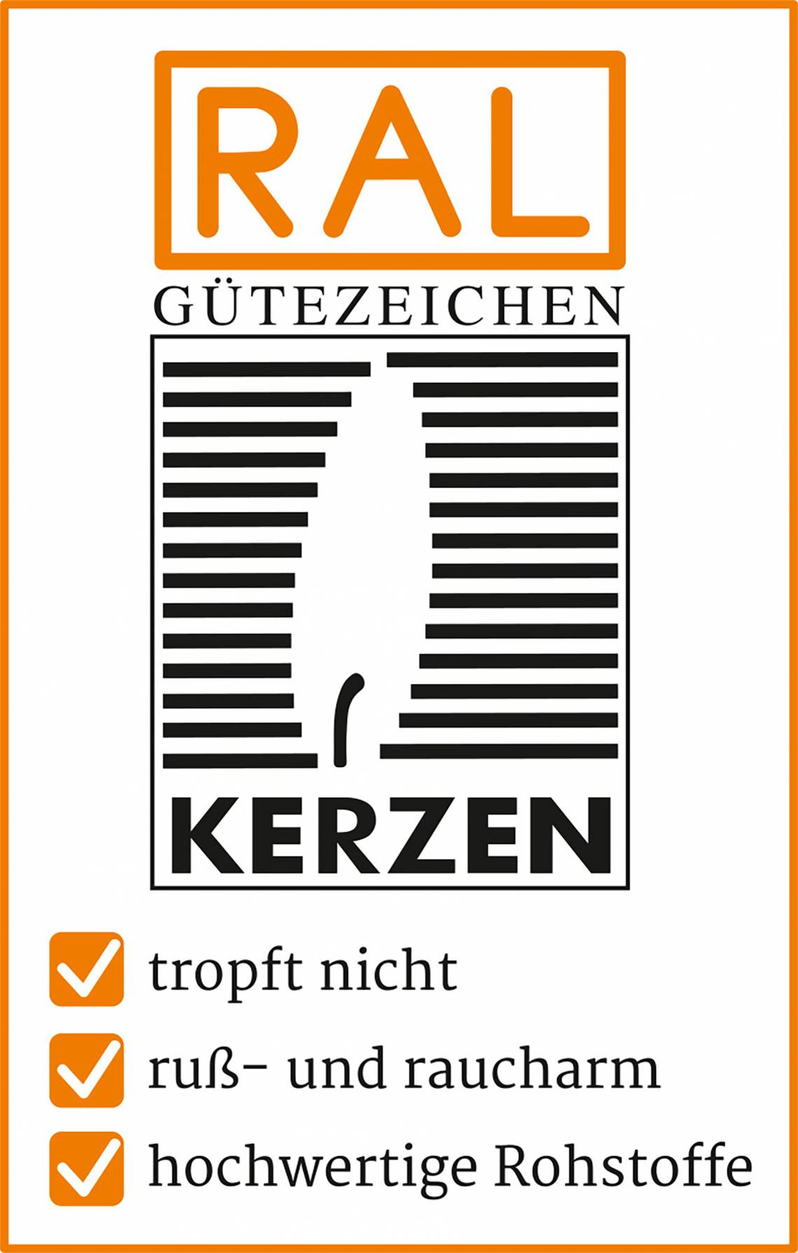 RAL Gütezeichen Kerzen_Logo
