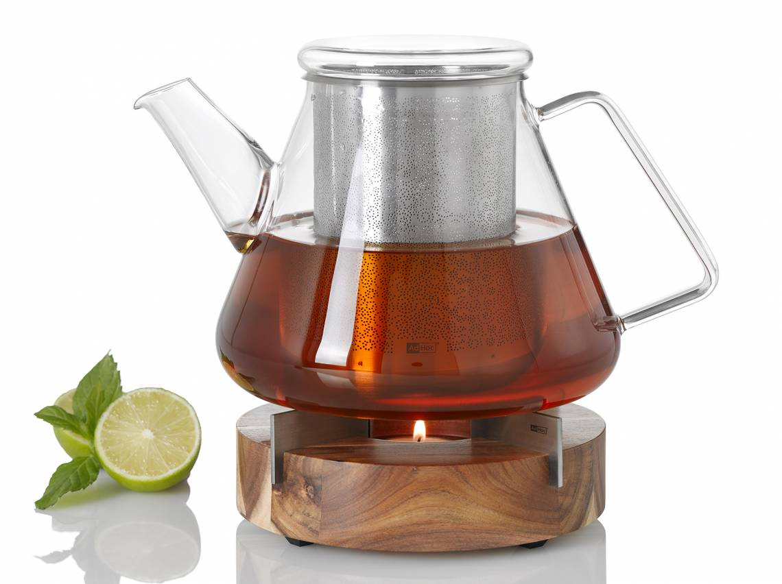 adHoc - ORIENT+ Teekanne TK 50 mit Stövchen und Speisenwärmer TUTO
