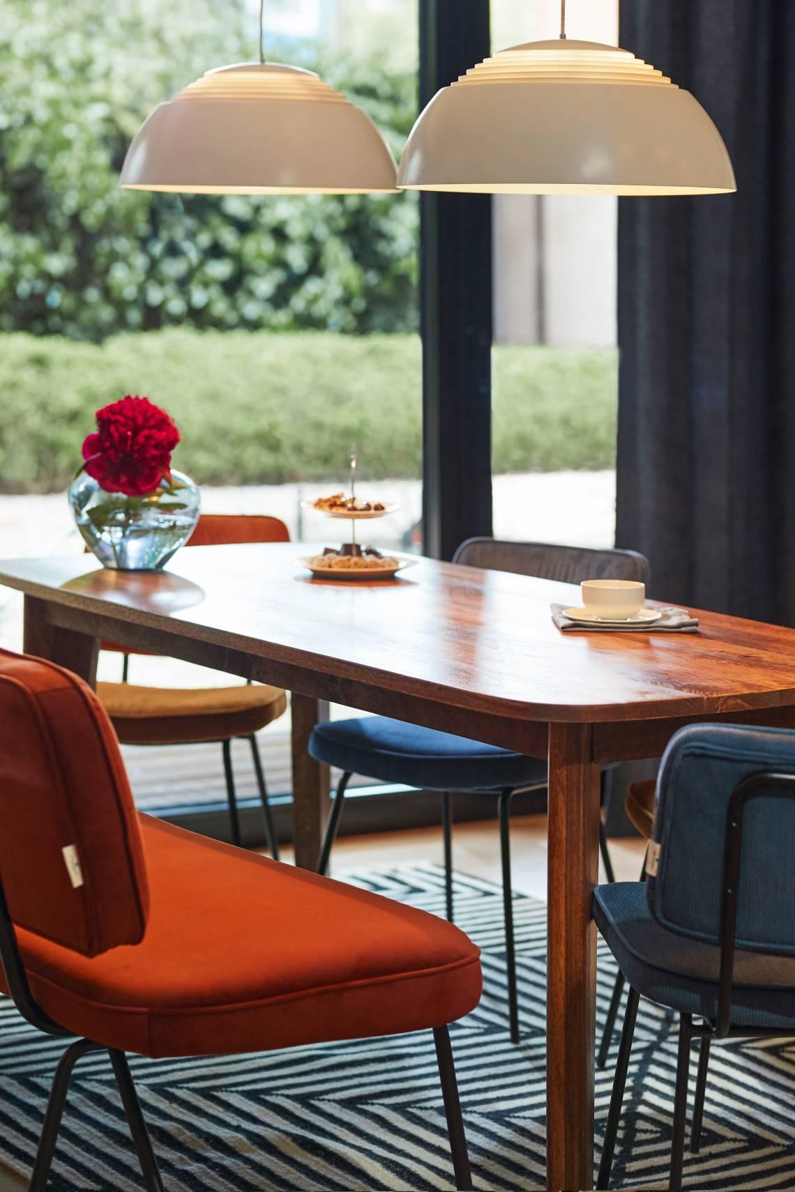 TOM TAILOR Dining Orange Blau Stimmungsbild02