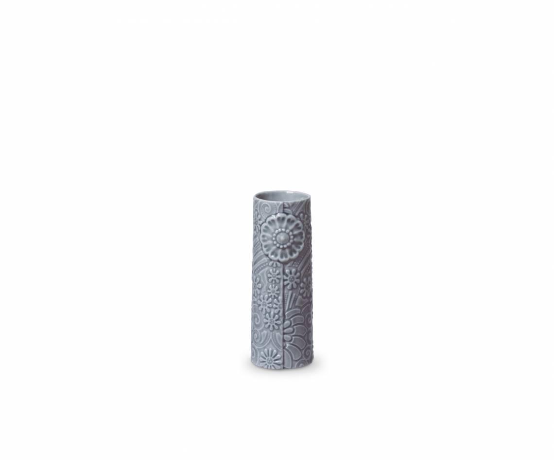 Dottir - Pipanella Vase Flower Micro Blaugrau
