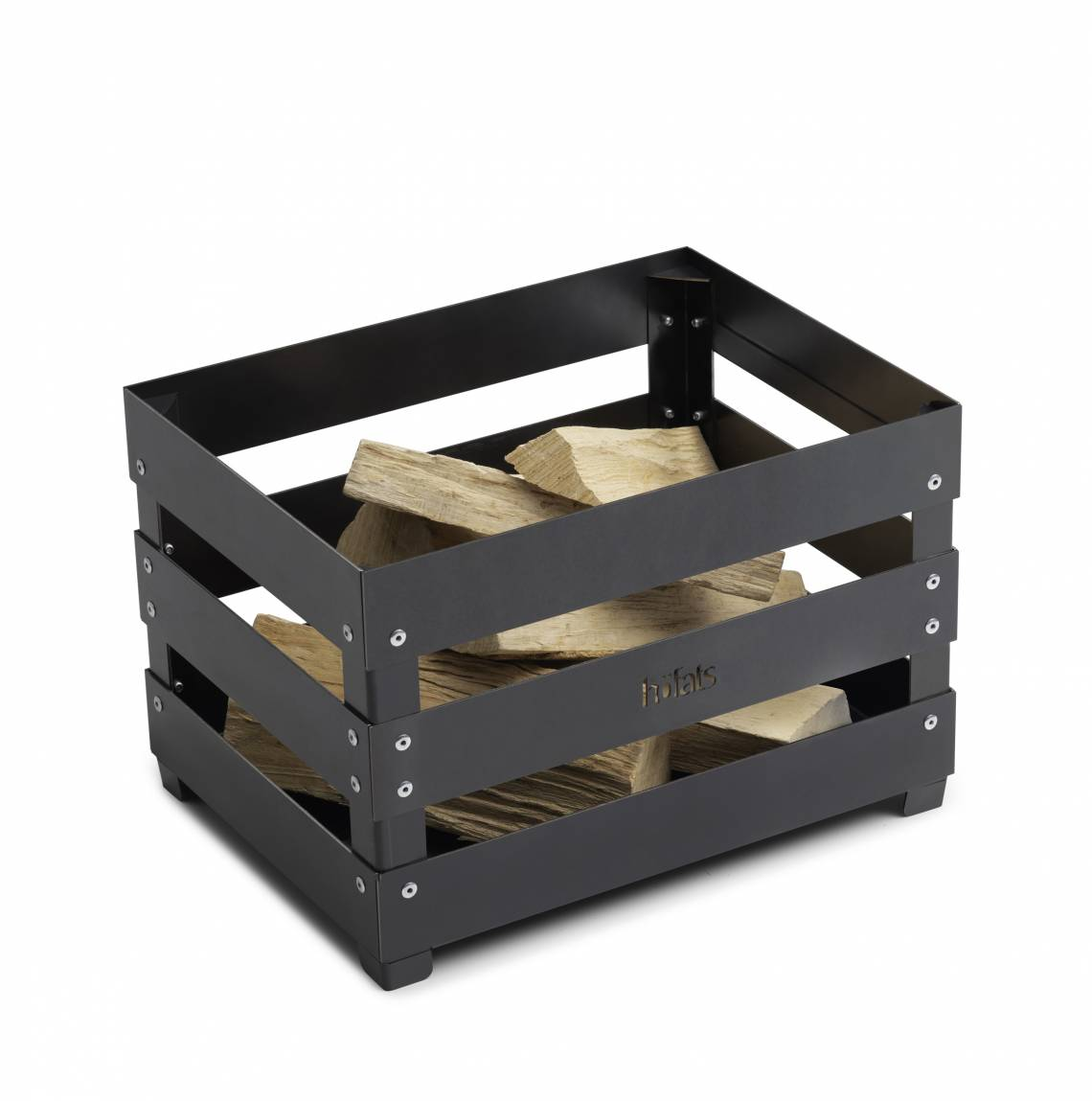 Crate mit Holz