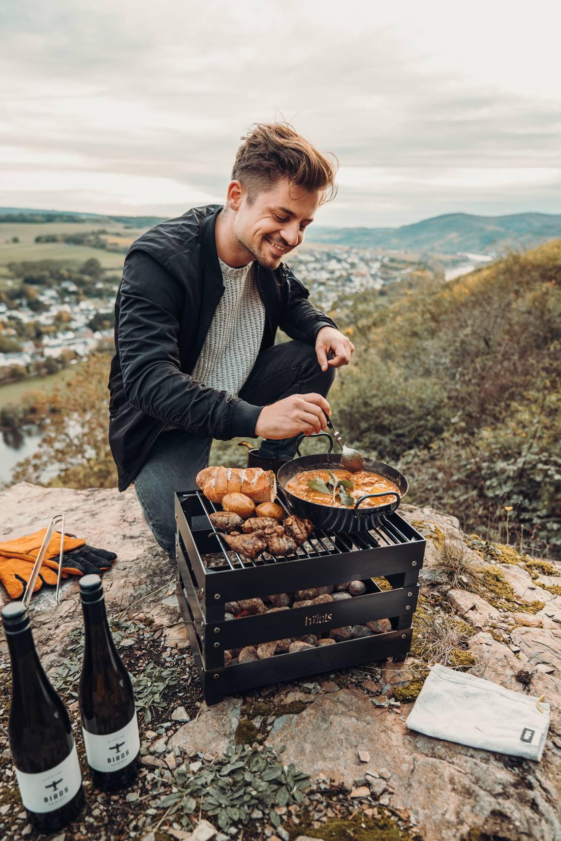 hoefats Crate Grillen Outdoor