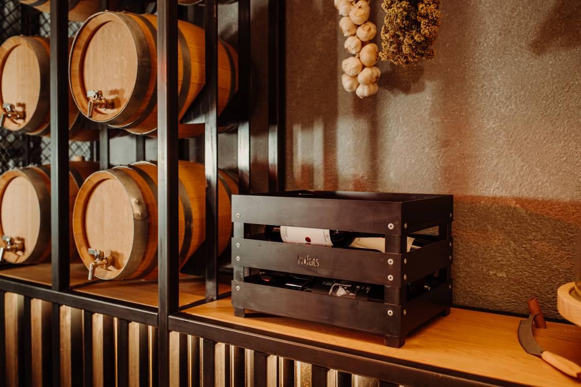 hoefats Crate als Weinkiste