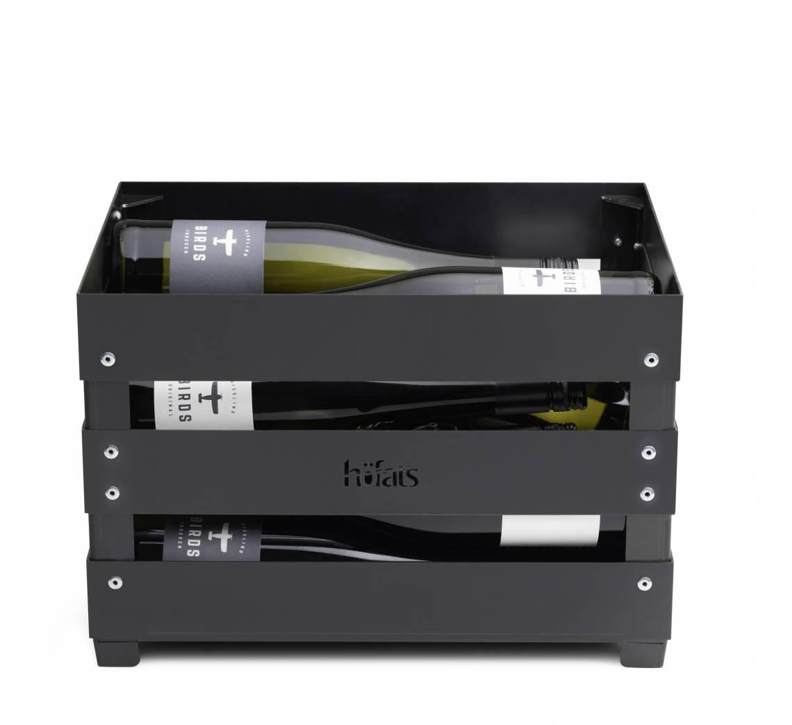 Crate mit Wein