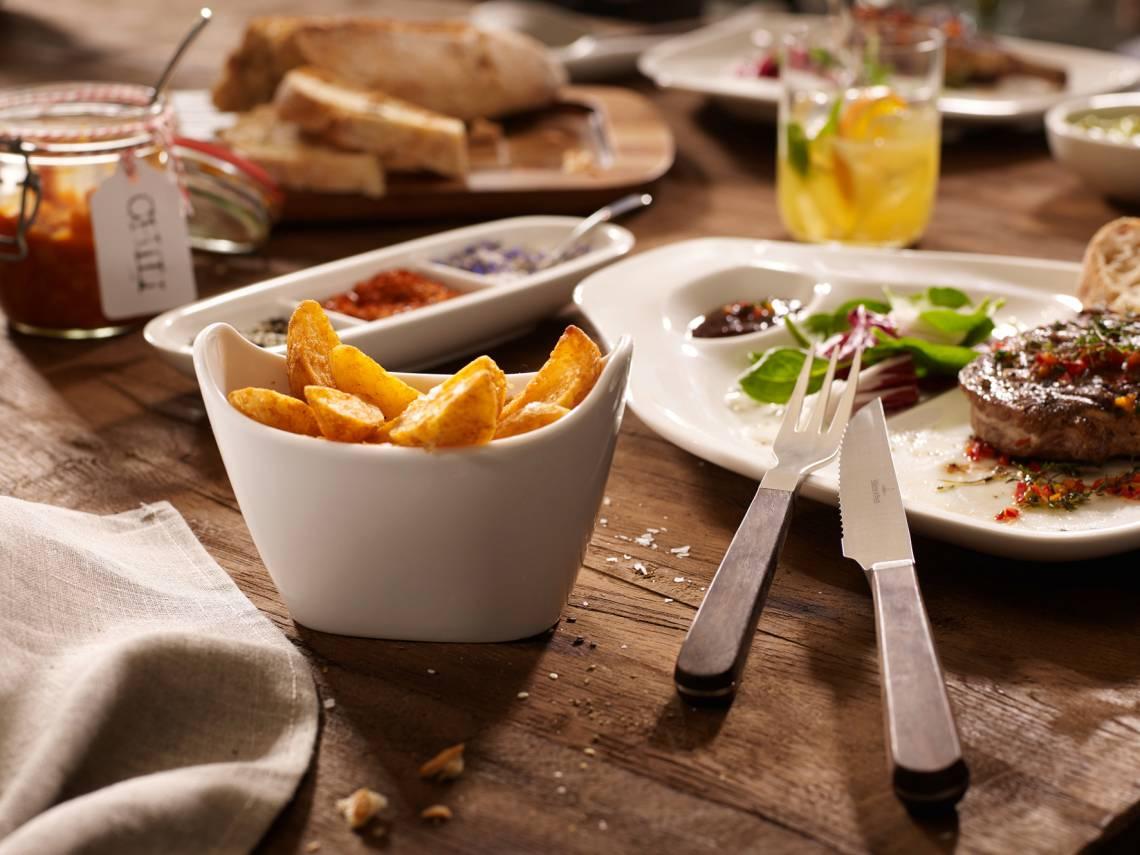 Villeroy & Boch - BBQ Passion Gemüse Teller und Schale