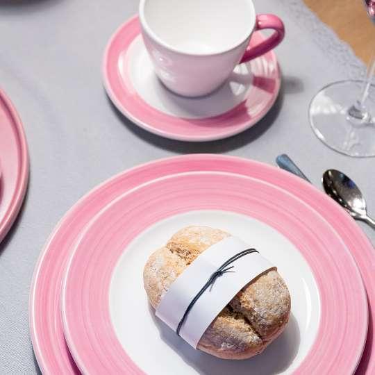 GmundnerKeramik Variation-Rosa – Muttertag- Frühstück