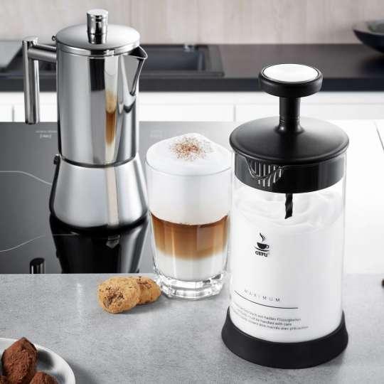 GEFU Espressokocher & Milchschäumer