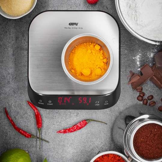 GEFU - Fein- und Küchenwaage Preziso - Zutaten