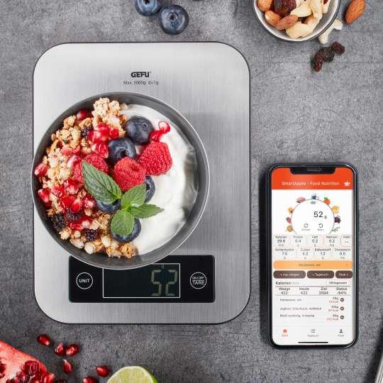 GEFU - Bluetooth Küchenwaage - SCORE - Müsli