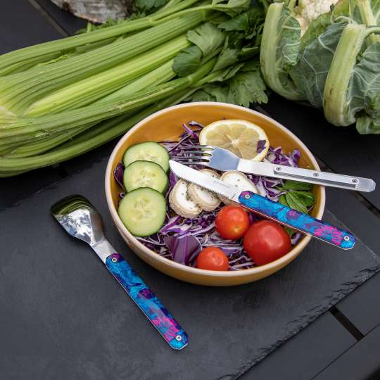 Akinod - Besteck Hibiskus - Gemüse-Bowl
