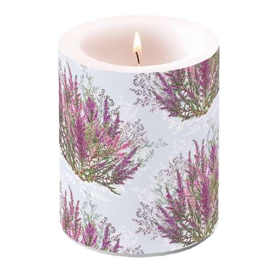 Ambiente - Calluna - Kerze groß, 10x10 cm