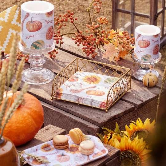 Ambiente - Pumpkins&Sunflowers - Herbstdekoration