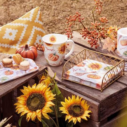 Ambiente - Pumpkins&Sunflowers - Herbstdekoration - Sonnenblumen