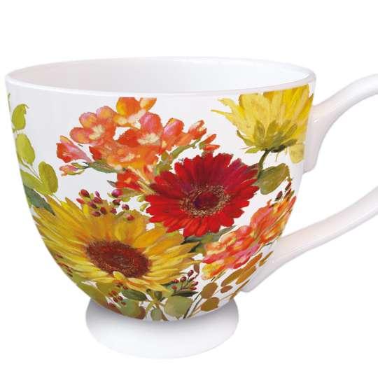 Ambiente Sunny Flowers Henkelbecher 0,45 l