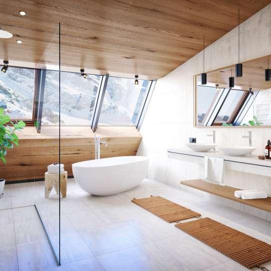 Architekturvisualisierung Hotel Bieberkopf Suite 60m2
