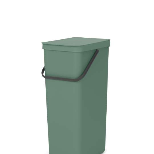 Brabantia Sort & Go Recycle Bin, 40L - Fir Green