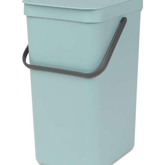 Brabantia Sort & Go Waste Bin, 16L - Mint