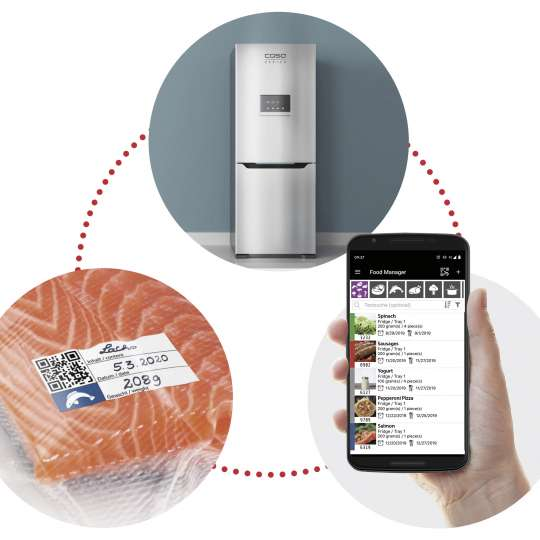 CASO Design - Food Manager App