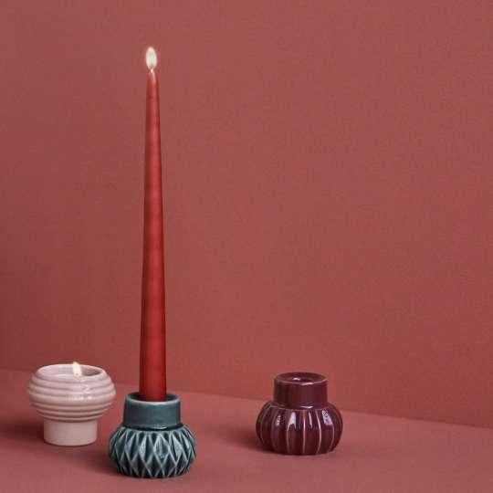 DOTTIR – Multifunktionaler Kerzenständer in Bausteinen und Vase PEARLPUFF