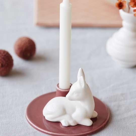 DOTTIR Geburtstags-Geschichten Keramik Kerzenleuchter62x90 mm