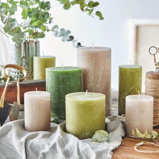 Engels Kerzen - Farbauswahl Kerzen - Grüntöne