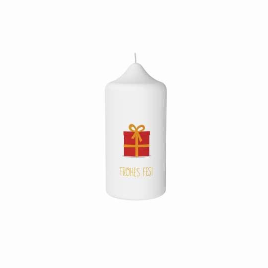 Stumpenkerze Geschenk von Engels Kerzen