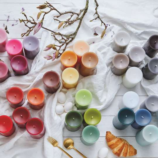 Engels Kerzen - Farbübersicht - Regenbogen