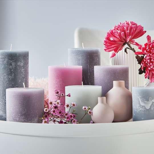Engels Kerzen - Farbauswahl Kerzen - Rosatöne