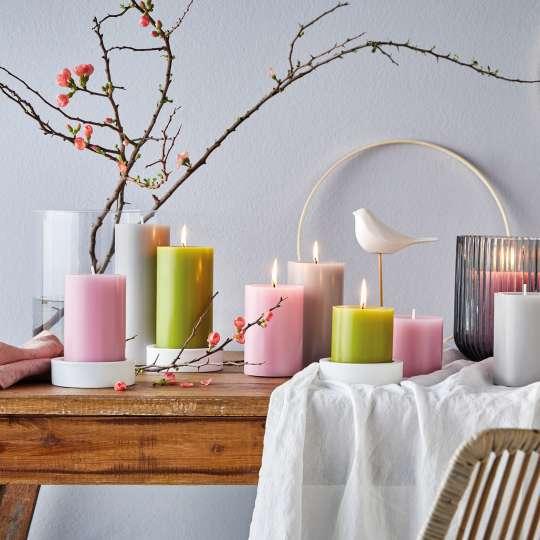 Engels Kerzen - Farbauswahl Kerzen - Rosa, Grün, Grau