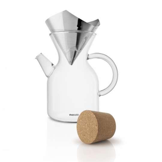 Eva Solo Pour over coffee maker mit Korken