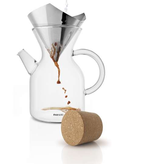Eva Solo Pour over coffee maker mit Kaffeetropfen