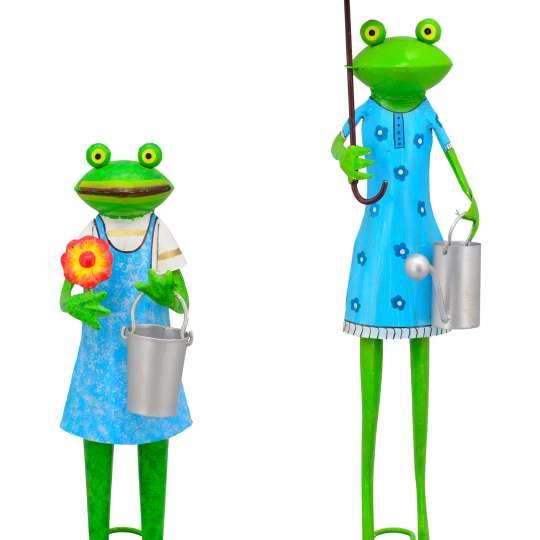 Frosch Gärtner Kanu