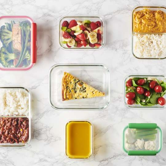 Mastrad Set Aufbewahrungsboxen geöffnet – farbig sortiert F93xxx