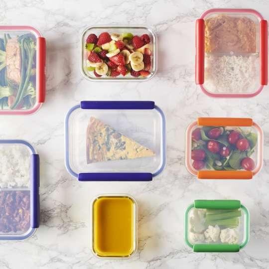 Mastrad Set Aufbewahrungsboxen geschlossen – farbig sortiert F93xxx