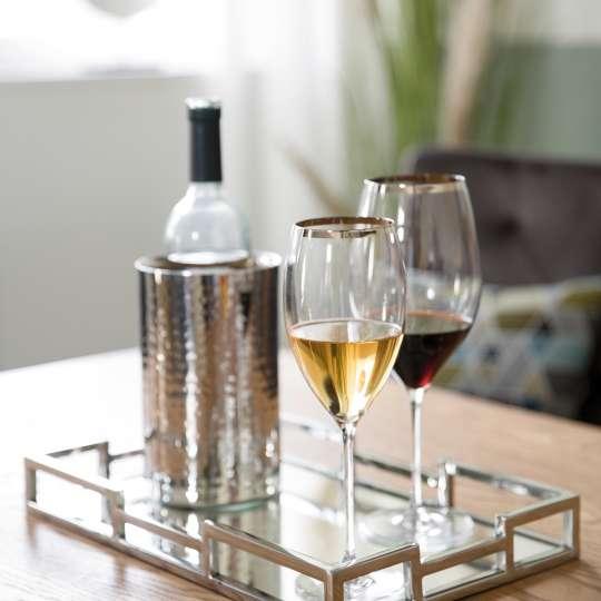 Fink PLATINUM Weingläser auf Tablett