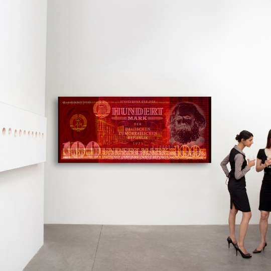 Frankreichts: Wandbild - Marx