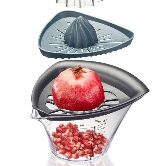GEFU 14480 Granatapfelentkerner und Entsafter FRUTI