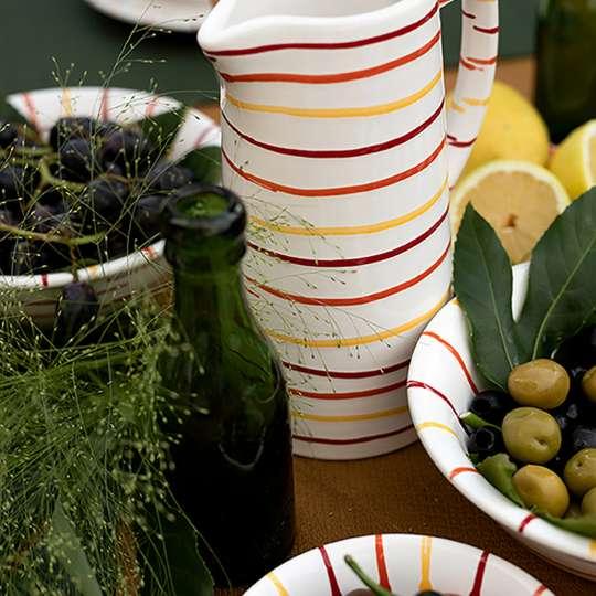 Gmundner Keramik - Geschirr Landlust - Tisch Detail