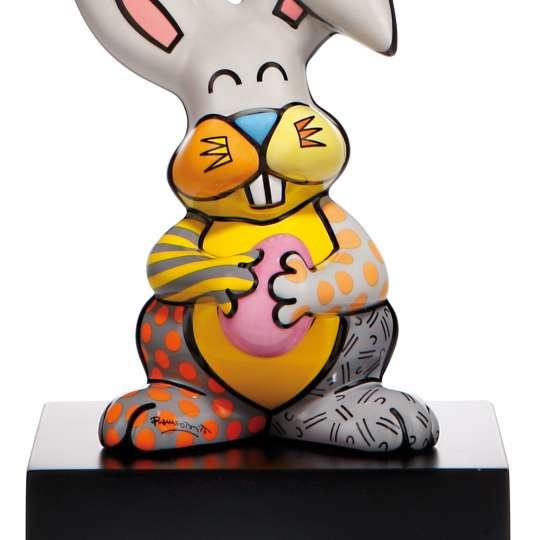 Goebel-Porzellan-Pop-Art-Britto-Grey-Rabbit