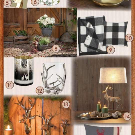 Hüttenromantik & Chaletcharme 2021 - Produktvorschläge von TrendXpress