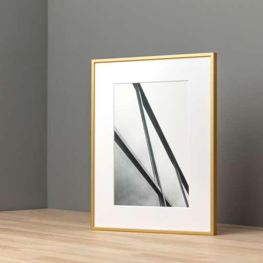 Halbe-Rahmen - Classic-Magnetrahmen-Alu-6-Gold