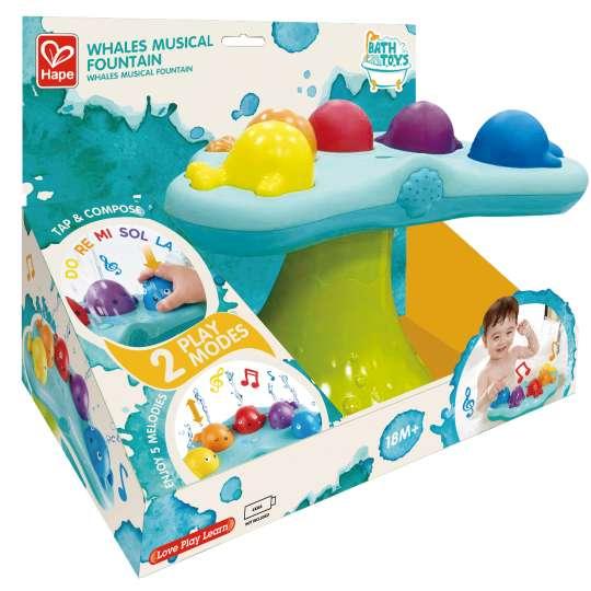 Spielzeug für Kleinkinder: musikalische Wale Verpackung