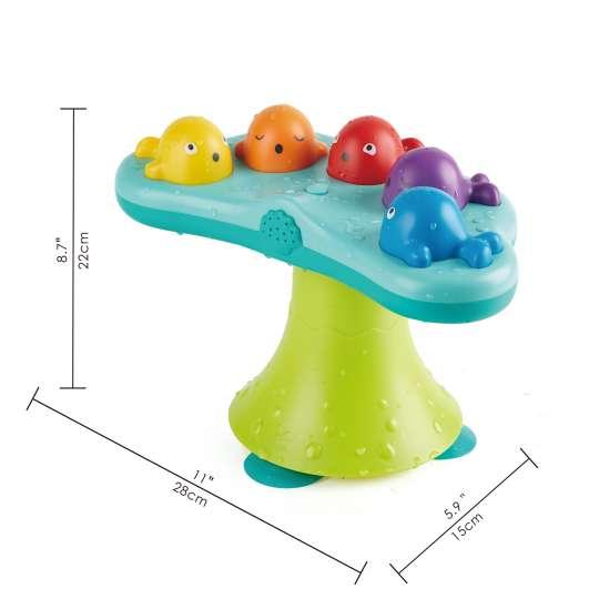 Spielzeug für Kleinkinder: musikalische Wale